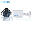 JOOAN 604HRC 1080TVL Outdoor Bullet CCTV Security Camera - White