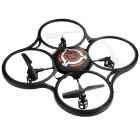 JJRC JJ-600 2.4GHz 4-CH Radio Control R/C UFO Quadcopter w/ Gyroscope - Black + Red