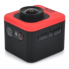 "SJCAM M10 1.5"" LCD 2/3"" CMOS 12MP 1080P Wide Angle Sports Camera w/ TF, Mini HDMI - Red + Black"