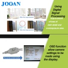 JOOAN 1080TVL Waterproof  Ourdoor Security CCTV Camera - Black Grey