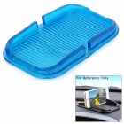 PVC Car Anti-Slip Non-Slip Phone Holder Mat Pad for IPHONE / Samsung / Xiaomi / HTC & More - Blue