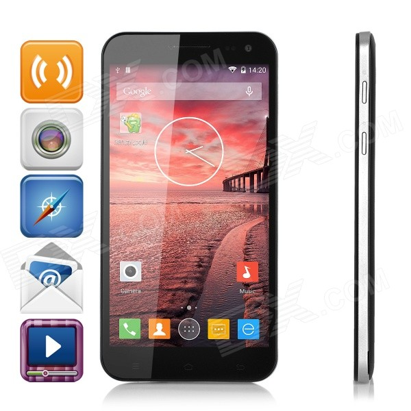 "ZOPO 3X 4G LTE Dual SIM MT6595 Octa-Core 5.5 ""FHD Android 4.4 Phone w / 3GB RAM, 16 GB ROM, 14MP Cam"
