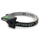 3-LED Sensing Cap Light Headlamp for Fishing / Camping