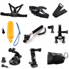 TOZ 9-in-1 Chest Belt + Head Strap + Floating Grip + Monopod Set for GoPro Hero 4 / 3+ / 3 / 2 / 1