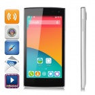 iNew V1 5.0 MT6582 Quad-Core WCDMA Android 4.4 Phone w/ Wi-Fi / GPS / 1GB RAM / 8GB ROM - White