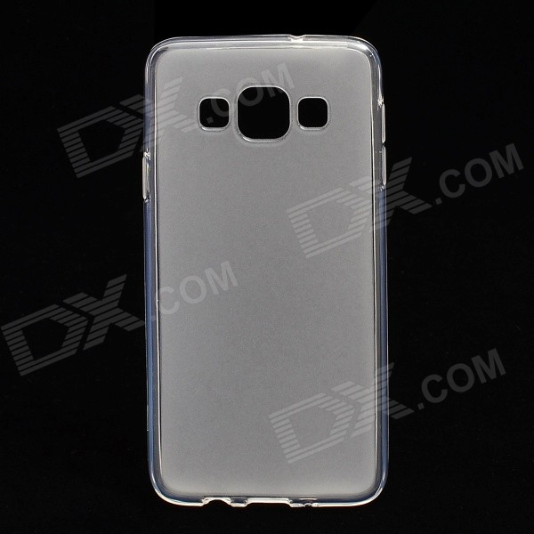 Simple Stylish Anti-slip TPU Back Case for Samsung Galaxy A3 - Transparent