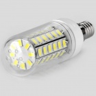 E14 6W 800lm 56-5730 SMD Cool White LED Corn Bulb Lamp (AC 220-240V)