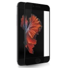 "Mr.northjoe 0.33mm 2.5D 9H Protective Tempered Glass Film Guard Protector for IPHONE 6 4.7"" - Black"