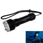 KINFIRE KF-7S 800lm 3-mode White Diving Flashlight w/ Attack Head