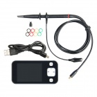 Geeetech DS0201 2.8'' Color TFT LCD Mini Digital Oscilloscope with Probe - Black