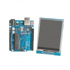 "UNO R3 Board Development Board + 2.8"" TFT LCD Touch Shield Display Module for Arduino"