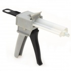 10:1 Double Liquid Manual Glue Gun - Gray + Black