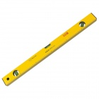 BESTIR  BST-01301 Professional 300mm Magnetic Bubble Level Ruler - Yellow