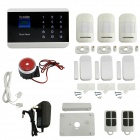 99 Zones Wireless Touch Screen GSM Home Security System for IPHONE / Android App