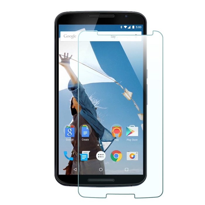 Mr.northjoe 0.3mm 2.5D 9HTempered Glass Film Screen Protector for Google Nexus 6