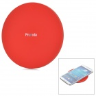 Frunda FCT002 5V 1A Qi Wireless Charger for Samsung i9500 / N9000 + More - Red