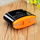 SZWLX wlx-ca001 USB US Plugs AC Charger Power Adapter - Black + Orange