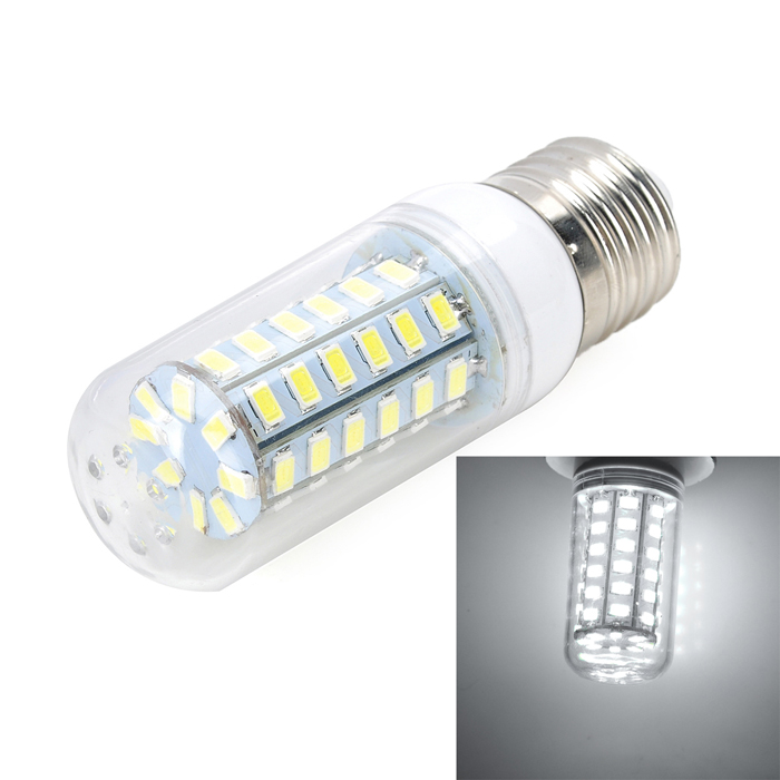 E27 17W холодный белый 7500K 1000lm 56-SMD LED Corn Light (AC 220-240В)
