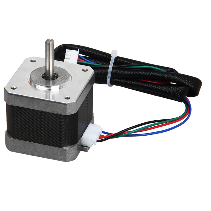 Geeetech 3D-Printer RepRap 1.8-graden anti-slip 42YB Stepper Motor zwart