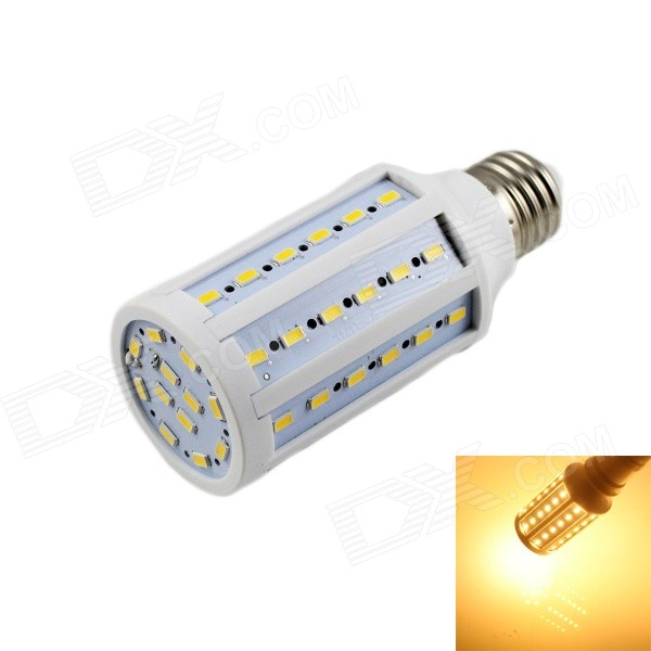 KINFIRE E27 15W 1200lm 3000K 60-5730 SMD LED Warm White Light Corn