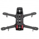 Replacement Carbon Fiber Frame Airframe for H250 / QAV250 Mini FPV Quadcopter - Black + Red