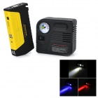 13800mAh Car Emergency Launcher Jump Starter Power Bank w/ 12V Air Pump / LED Torch / USB Output