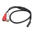 YSGK-601A DIY Mini Sound Pick-up Microphone Cable - Red + White + Black