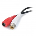 YSGK-601A DIY Mini Sound Pick-up Microphone Cable - Red + White