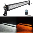 MZ 210W 17550lm White + Yellow Beam 120-LED Worklight Bar Off-road 4WD UTV Lamp w/ Remote Controller