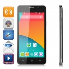 "M4 5.0"" IPS MT6572 Dual-Core Android 4.4.2 Smart Phone w/ 4GB ROM, Dual-SIM, Dual 2.4MP Cam - Black"
