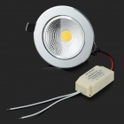 SENCART 7W 400lm 3000K COB LED Warm White Ceiling Lamp (AC 100~240V)