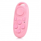 Multifunctional Bluetooth V3.0 Gamepad & Selfie Remote Shutter w/ Wireless Mouse Function - Pink