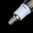 WaLangTing E14 4W 400lm 3200K Warm White 4-LED Filament Candle Bulb