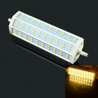HZLED R7S 16W 1280LM 3000K 60x5730 SMD LED Warm White Light Bulb - White (85-265V)