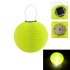 3-LED Light Control Handmade Solar Lantern - Yellow (2PCS)