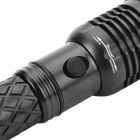 10W 800lm 3-Mode Rotate Cold White 400M Range LED Flashlight