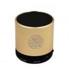 Dar AL SALAM QS-100 altavoz digital quran -golden (8GB)