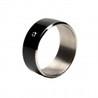TIMER 2 Waterproof 13.5MHz Smart Ring w/ NFC - Black (Size 11)