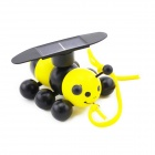 Solar Powered Creative Educational Bee Toy - Yellow