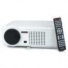 XPS200 1080P Full HD Home Theater LED Projector w/ HDMI / VGA / AV / USB - White