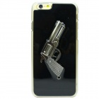 Gun Pattern Protective TPU Back Case for IPHONE 6 - Black