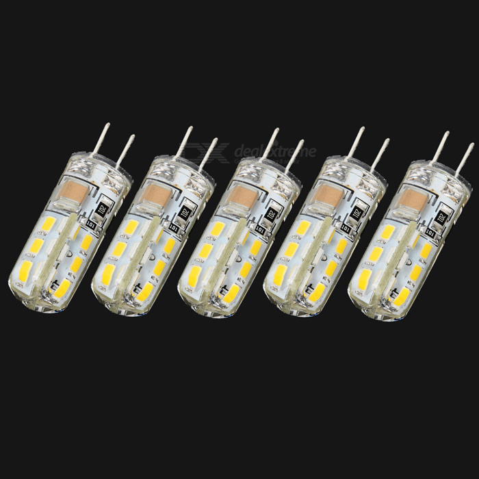 JRLED G4 2W 130lm 3014 SMD Warm White Light Source(5PCS)