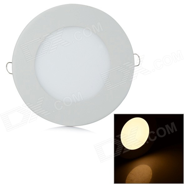 ZD-TD55 12W 559.3lm SMD 3020 LED Warm White Panel Ceiling Lamp