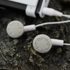 MP3 Player w / Torch / Clip / TF / Mini USB / 3.5mm - Branco + Preto