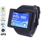 "AOKE Z13 Android 2.3 GSM Watch Phone w/ 2.0"", WiFi, GPS, Bluetooth, Camera, 4GB TF - Black"
