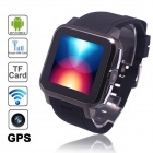 AOKE Z15 Android 4.0 WCDMA Watch Phone w/ 1.54