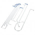 B227 12-in-1 Car Vehicle Opening Lock-out Tool Set - Blue + Silver