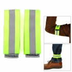 Salzmann Multi-Function Outdoor Leg / Arm Tying Reflective Band w/ Velcro - Fluorescent Green
