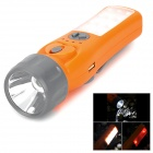 Multi-functional Mobile 5200mAh Power Bank / Compass / Dynamo Flashlight / Alarm - Orange