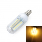 Marsing E14 Cross Design 10W 1000lm 3500K 56 x SMD 5730 LED Warm White Light Bulb Lamp (AC 220~240V)